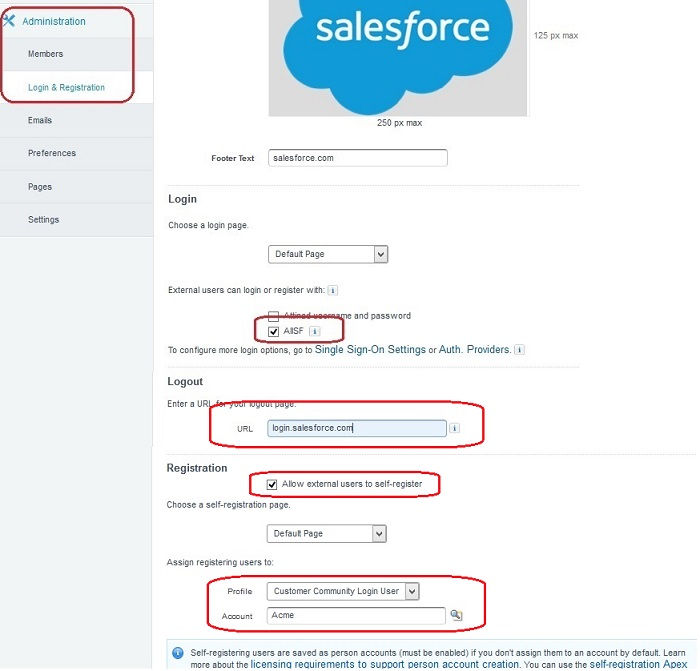 Bit Space: SSO on Salesforce Community to Login with Any