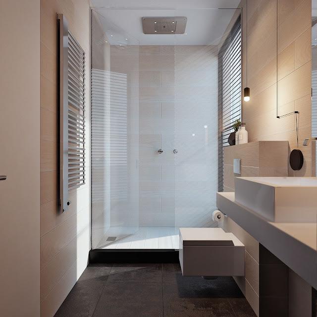 Bathroom Tiles Flower Design