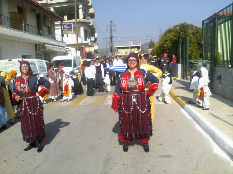 Η παρέλαση της 28ης Οκτωβρίου σε Καστέλλα και Ψαχνά (φωτό) 74217816 808550152937319 1255862030921891840 n