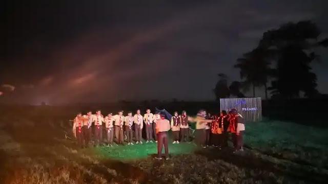 Api Unggun Pramuka Rumah Pelangi SMPI Darul Muminin & MA Plus Mu'min Cendikia Babelan