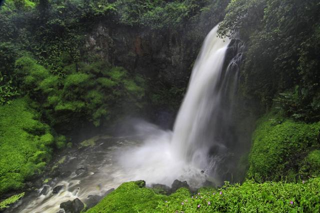 Gambar Air terjun Telum Berasap, Indonesia