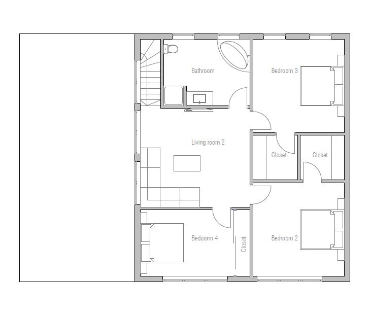 Ch251 contemporary beach house plan beach house plans for Beach house plans modern