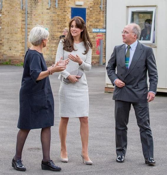 Kate Middleton visited a rehabiltation centre at HMP Send