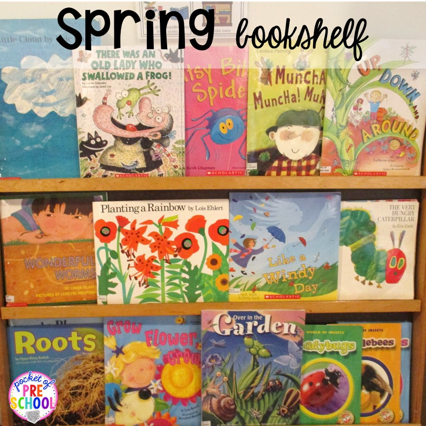 Spring Activities And Centers For Preschool Pre K And Kindergarten