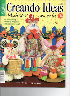 Creando Ideas Nro. 116 Muñecoss y Lenceria