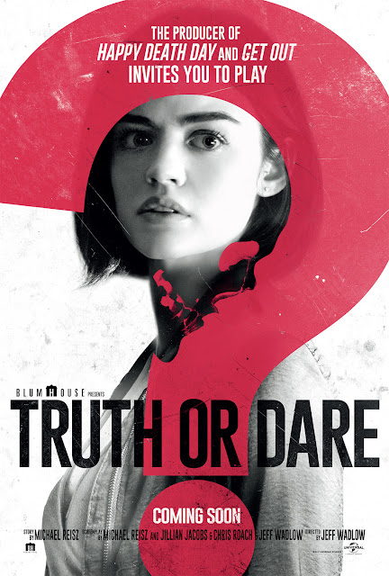 "Movies: Friends Face Deadly Consequences In ""Truth Or Dare"""