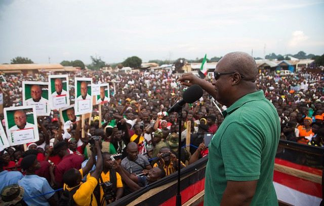 Nana Addo Is A Dictator, Don't Vote For Him – Mahama Tells Supporters