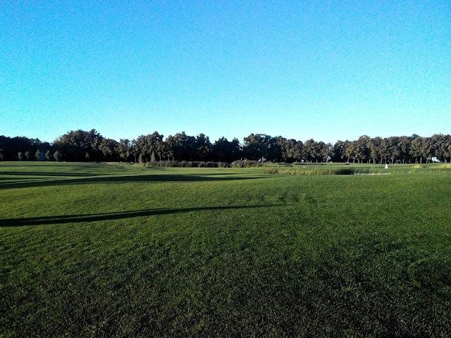 Межигорье поле для гольфа