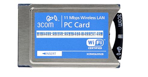 3Com SL-1110 11MBPS Wireless LAN PC Card (3CRWE62092B)