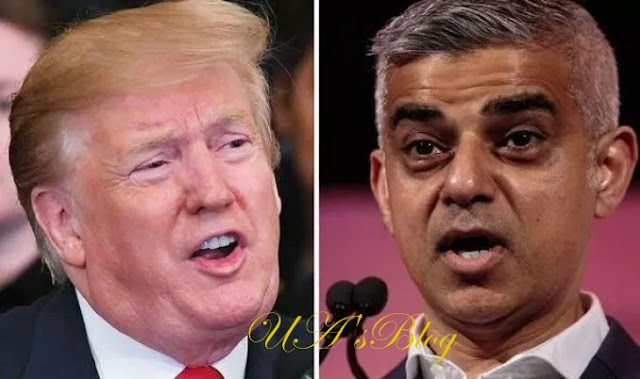 Donald Trump attacks Sadiq Khan branding him a 'disaster' after three murders in 24 hours