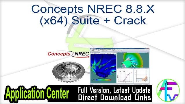 Concepts NREC 8.8.X (x64) Suite + Crack