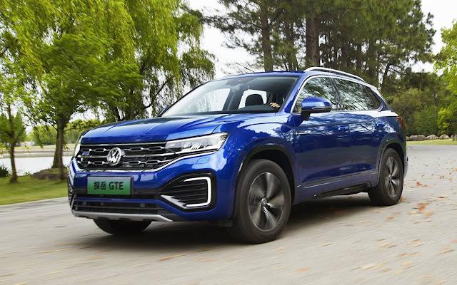 Tayron GTE: 1º SUV híbrido plug-in da Volkswagen na China