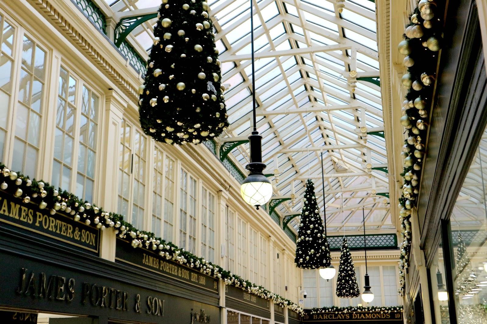 Argyll Arcade Glasgow Christmas
