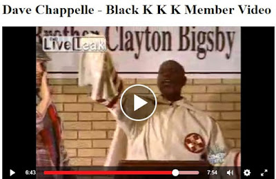 Dave Chappelle Brother Clayton Bigsby
