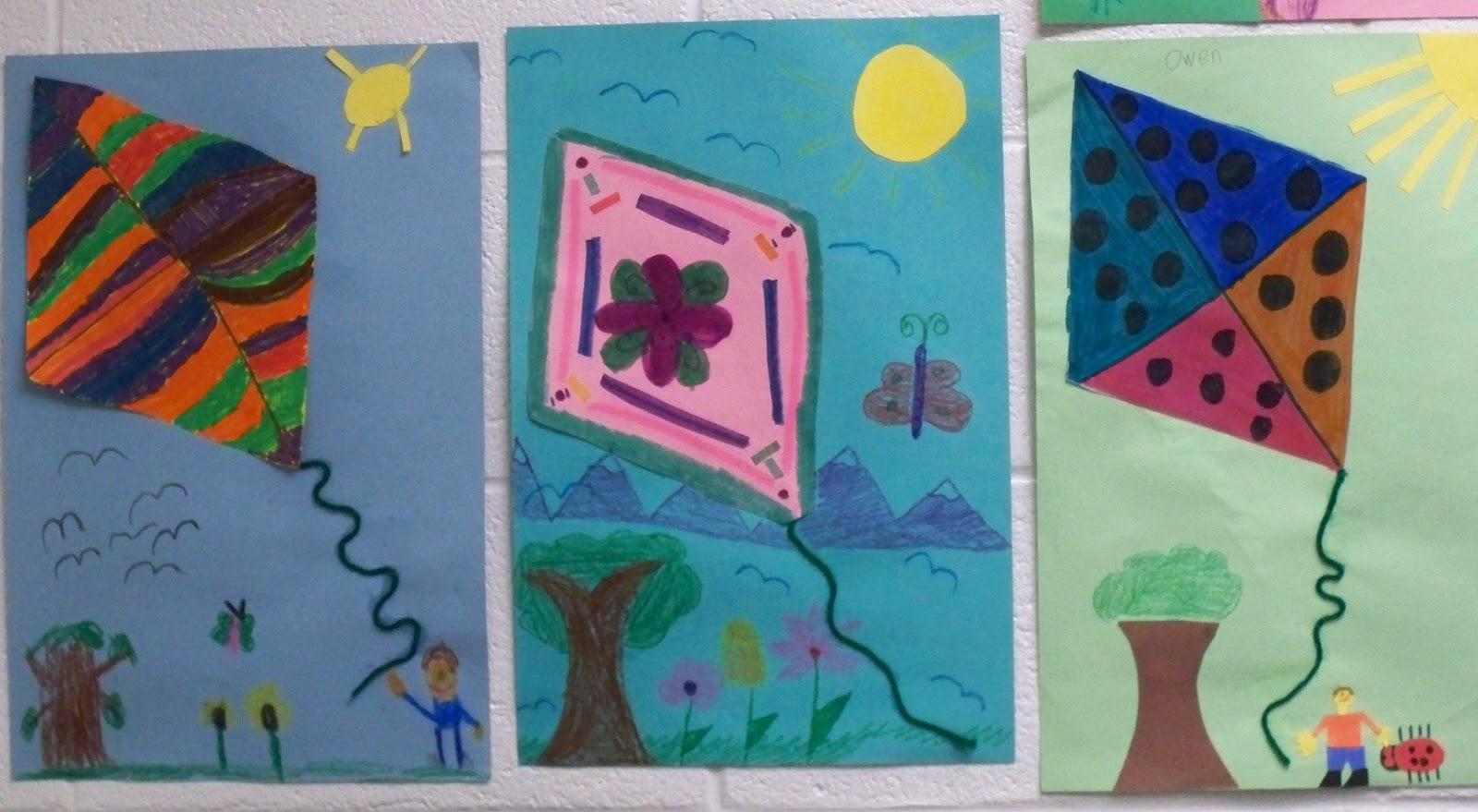 First Grade Best Spring Art In Minutes