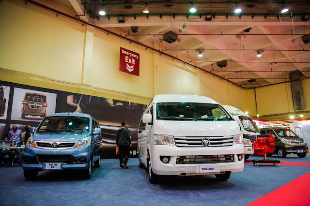 سعر السيارة الميكروباص السقف العالي الصيني فوتون 2017