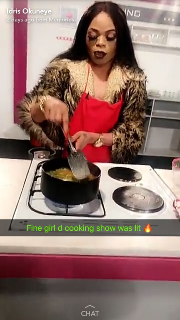 Bobrisky Represented Nigeria For A Cooking Show In Ghana