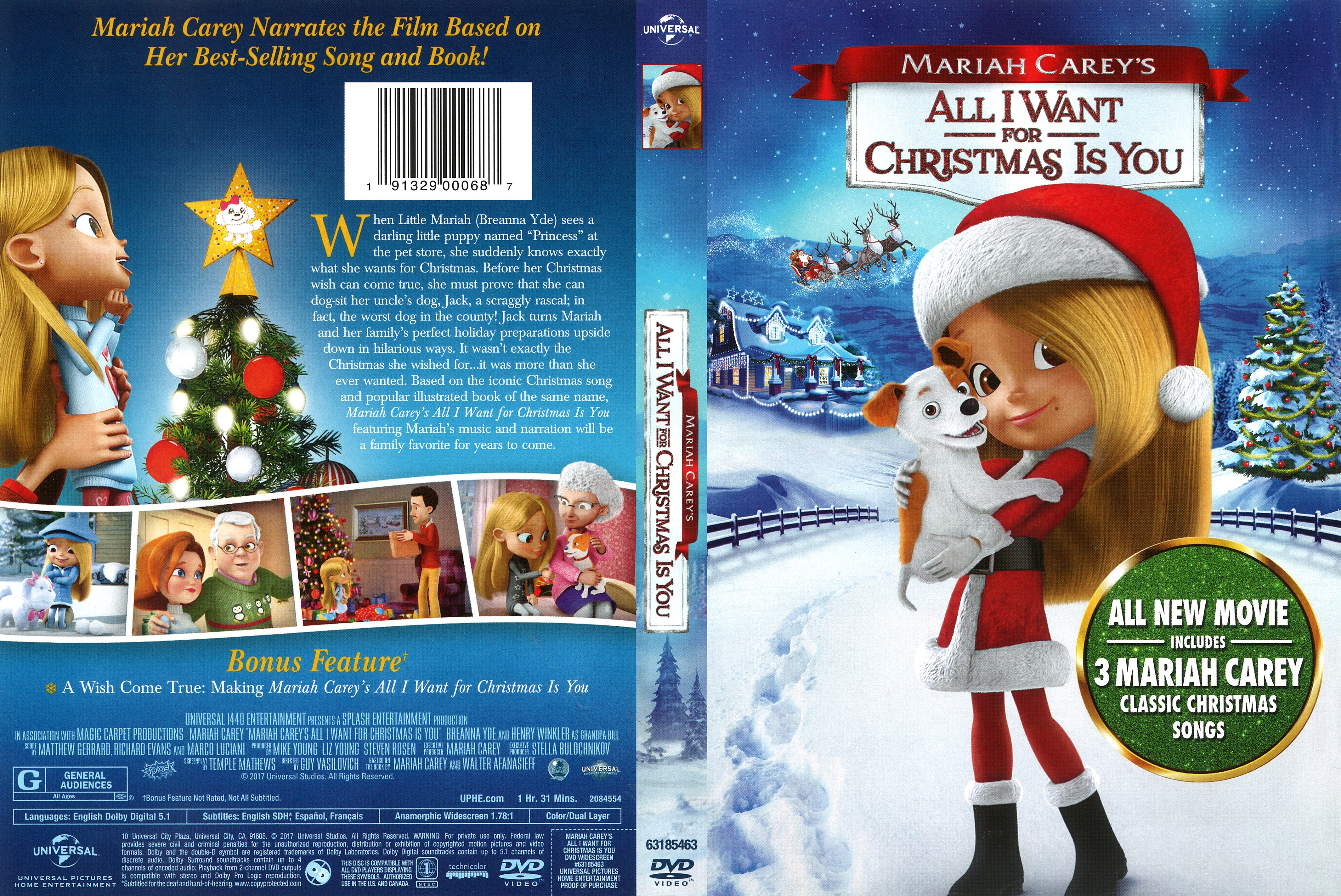 All I Want For Christmas Is You Movie.All I Want For Christmas Is You Dvd Cover Cover Addict