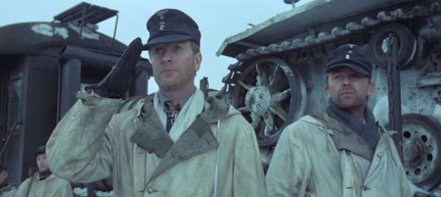 Michael Caine and Sven-Bertil Taube in German uniform in The Eagle Has Landed