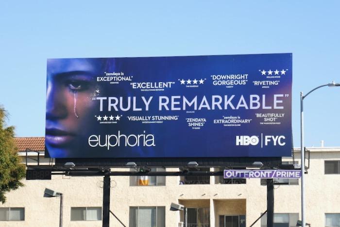 Euphoria season 1 FYC billboard