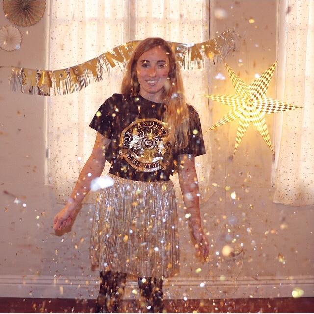 Gold Glitter NYE