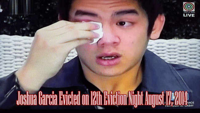Joshua Garcia Evicted from PBB All In 12th Eviction Night August 17, 2014