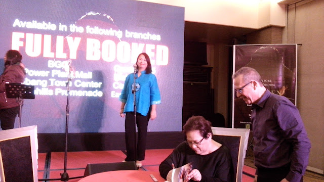 The launch starts with a reading of Chapter 27 by Lissa Romero De Guia. There was also book signing then Q&A with the co-author, Coylee Gamboa.