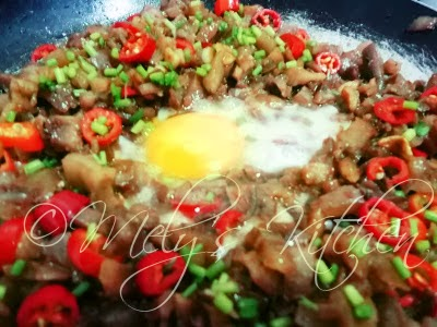 how to make sisig baboy