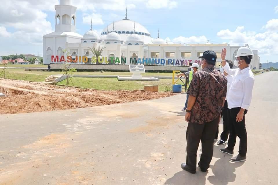Sebagai Wisata Religi, Simpang dan Jalan di Sekitar Masjid Sultan Ditingkatkan