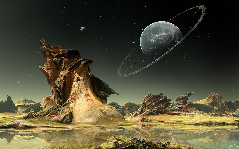 Free Sci Fi Fantasy Desktop Wallpaper: Artotaku