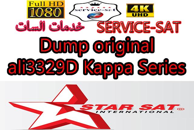 Dump original ali3329D Kappa Series