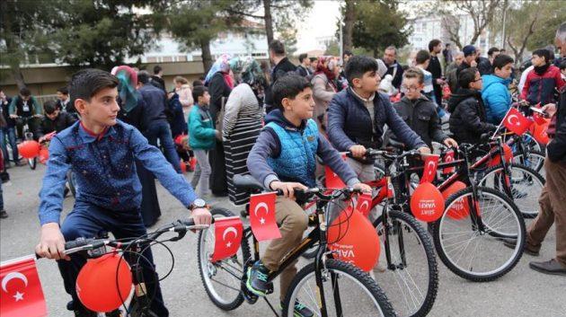 Masya Allah.. Di Turki, Rajin ke Masjid Dapat Sepeda