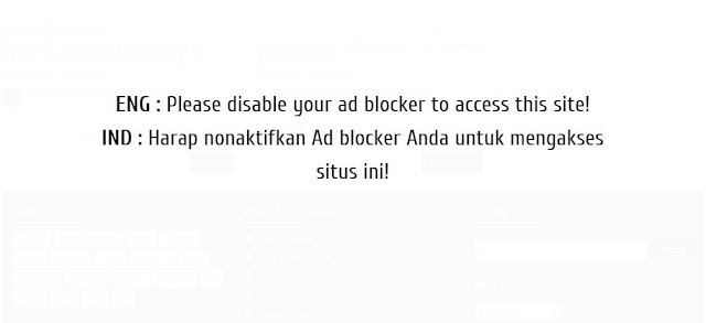 Cara Pasang Anti Adblock Killer di Blogger
