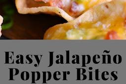 Easy Jalapeño Popper Bites