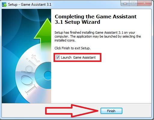 تنصيب برنامج  Game Assistant 3 لتسريع الالعاب