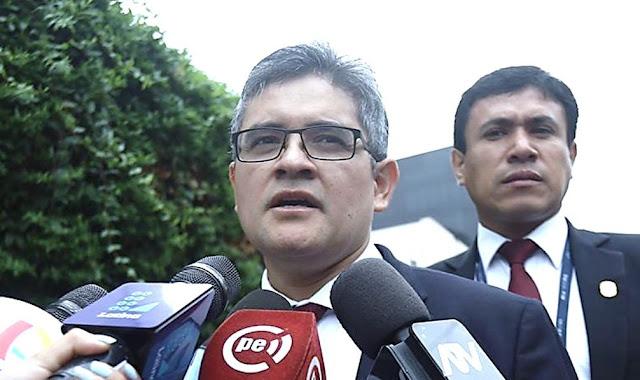 Fiscal Pérez: Acuerdo de colaboración con Odebrecht corre peligro