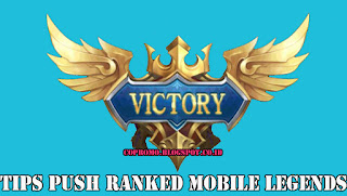 Tips push ranked mobile legends