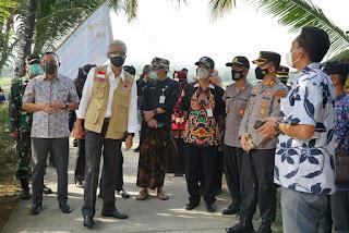 Covid Meningkat, Gubernur Ganjar Tinjau RSUD & Desa Wirun