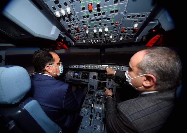 رئيس الوزراء يشهد بدء تشغيل أحدث أجهزة الطيران التمثيلي و يوجه الشكر لجميع العاملين بوزارة الطيران المدني على جهودهم لمواجهة جائحة كورونا
