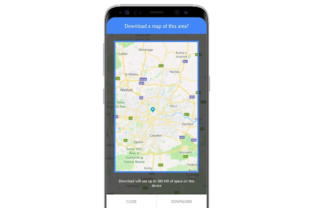 Offline Maps On Google Maps