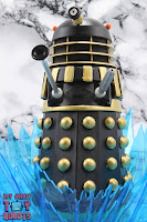 "Custom 'The Curse of Fatal Death"" Black Dalek 16"