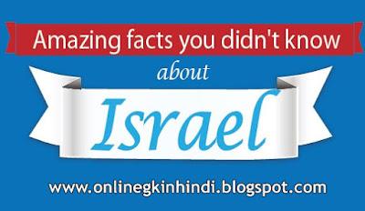 इजराइल का इतिहास और इजरायल के बारे में रोचक तथ्य