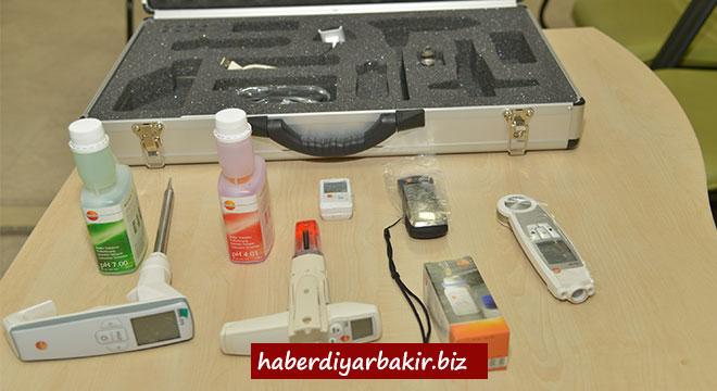 Diyarbakır Büyükşehir Belediyesi gıda denetimlerini saha ölçüm cihazları ile yapacak