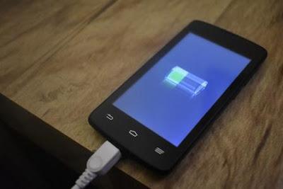 matikan smartphone saat di charge