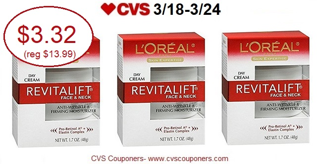 http://www.cvscouponers.com/2018/03/save-77-off-loreal-revitalift-daily.html