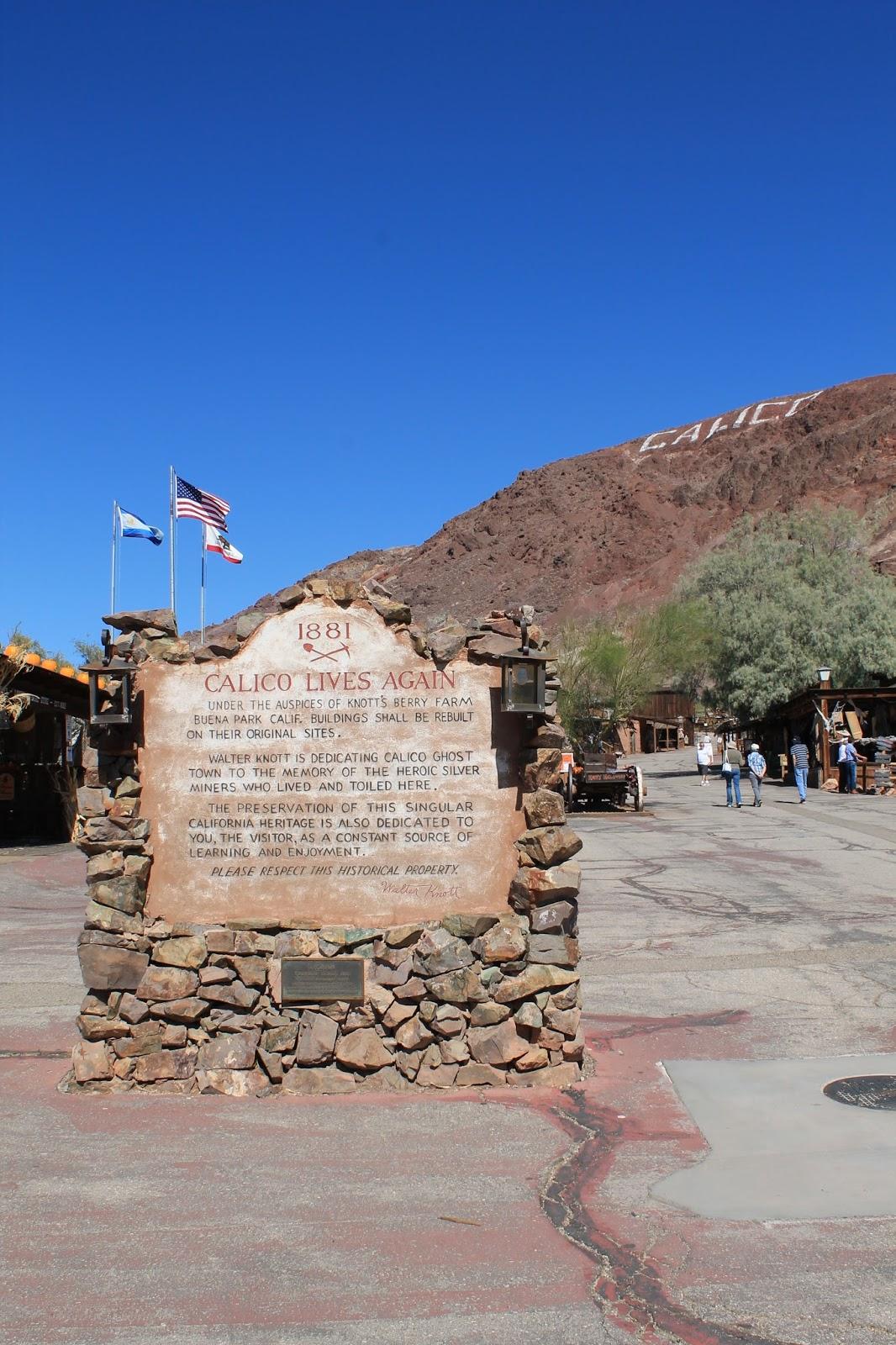 USA états unis amérique vacance transat roadtrip ouest américain calico