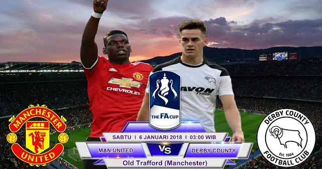 BOLA 365 - Prediksi Manchester United vs Derby County 6 Januari 2018