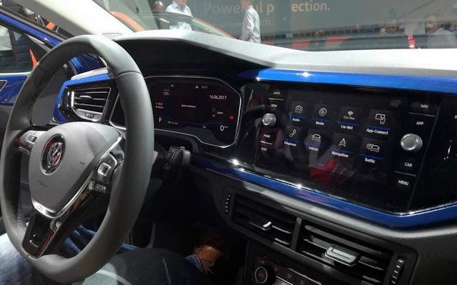 Novo VW Polo 2018 - interior - painel