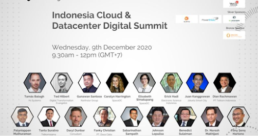 Watch Recording Indonesia Cloud and Datacenter Digital Summit 9 Dec 2020