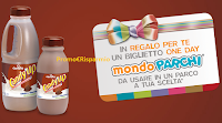 Logo ''Divertiti con Candy'Up'': premio certo 1 biglietto One Day per Mondo Parchi